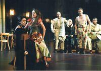 Postcard Germany Frau woman femme Strauss Oper Ariadne auf Naxos Tanz Gesang