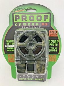 PRIMOS PROOF GAME CAMERA - BLACKOUT LEDS