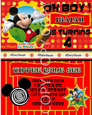 Mickey Mouse Clubhouse Birthday Party Invitations 8 pk Personalized