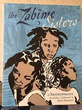 The Zabime Sisters by Aristophane and Matt Madden oversized Tpb tp