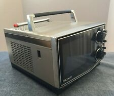 """Sony Trinitron Solid State Color Television - KV-5100 - 5"""" Screen - Vintage"""