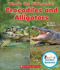 CROCODILES AND ALLIGATORS - HERRINGTON, LISA M. - NEW BOOK