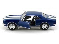 """New 5"""" Kinsmart 1967 Chevrolet Camaro Z/28 diecast model chevy toy 1:37 Blue"""