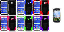 Screen Protector + T-Stand Hybrid Cover Case for Samsung Galaxy Ace Style S765C