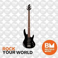 ESP LTD B-50 Bass Guitar Black Fretless with Active Tone Boost B SERIES - BNIB