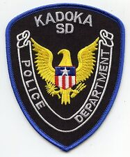 KADOKA SOUTH DAKOTA SD POLICE PATCH
