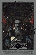 Zardoz by Richey Beckett Ltd Edition x/225 Screen Print Poster Art MINT Mondo