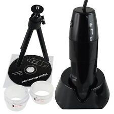 USB Digitale Microscopio 10x - 200x Ingrandimento 8 LED, Video Registrazione