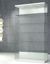 Vetrina Vetrinetta Espositore Display Showcase Vetro Cristallo luci LED