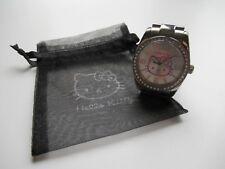 ⌚  Montre Hello Kitty Bracelet Acier Réf : 4402302 Très Bon État