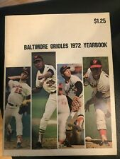 Baltimore Orioles 1972 Yearbook