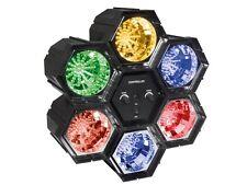 JEU DE LUMIERE CHENILLARD MODULAIRE MODULATEUR 6 SPOTS A LED 6 x 47 LEDs
