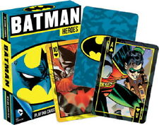 DC Comics Batman Heroes Comic Art Illustrated Playing Cards 52 Images NEW SEALED