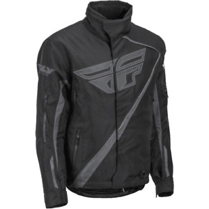 Fly Racing Men's SNX Pro Jacket - Black, Medium