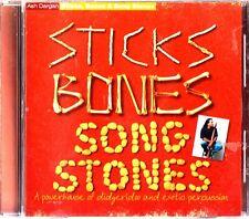 Sticks Bones & Song Stones CD Didgeridoo And Exotic Percussion Ash Dargan