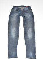 "Blue Denim JACK&JONES Slim Skinny Stonewashed Men's Jeans Size W31"" L33"""