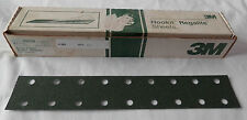 "3M Green Corps Hookit Regalite D/F, 80E, 50 sheets, 2.75"" x 16"", 00639 hs"