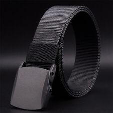 Men's Fashion Outdoor Sports Nylon Buckle Waistband Quick Dry Web Belt Proper