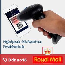 Barcode Scanner 1D 2D DM QR Bar Code Image Scan Reader USB For WinXP/7/8/10 UK