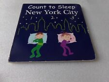 Count to Sleep New York City Hardcover Baby Learning Board Book -US Mom Seller