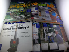 Lot Of 11 This Old House Home Renovation Magazines January-December 2002
