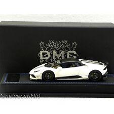 DMC Lamborghini LP610 WHITE W/ BLACK TOP LIM:30PCS PEAKO MODEL 1/43 #DMC43001WB