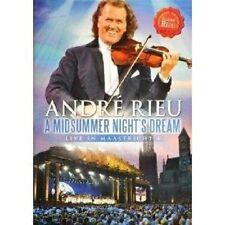 """ANDRÉ RIEU """"A MIDSUMMER NIGHTS DREAM LIVE"""" DVD NEU"""