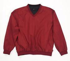 Wedge maglia doubleface reversibile felpa tuta rosso nero usato XXL uomo T1166