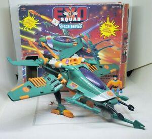 Exo Squad Kaz Takagi w/ Exofighter Space E-Frame Vehicle Playmates 6361 1994
