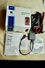 Olympus Tough TG-4 Waterproof W-Fi GPS F/2.0 Digital Camera (Black)