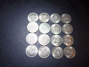 Bulk Lot of 1965 Florins, Mint Uncirculated 16 coins