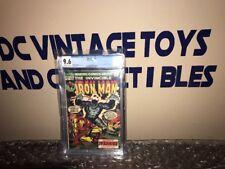 Iron Man # 56 CGC 9.6 OWW (Marvel, 1973) Doctor Strange cameo-JUST GRADED LOOK!
