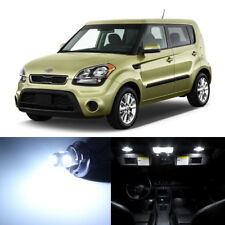 11 x White LED Interior Lights Package For 2010 - 2018 Kia Soul + PRY TOOL