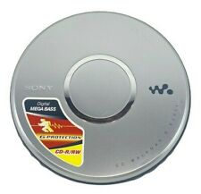 Sony Silver Portable Walkman CD Player D-EJ011 Mega Bass G-Protection
