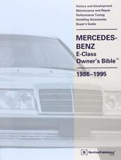MERCEDES OWNERS BIBLE E CLASS W124 SALOON COUPE CABRIOLET WAGON Manual Handbook
