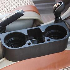 Universal.Black Drink Cup Bottle Holder Beverage Seat Seam Wedge Car Truck Auto