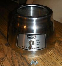 Waring Commercial Bar Blender 36Bl68 (Bb140) Stainless Steel Base Cover & Switch