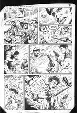 G.I. Combat #282 p.2 - Mercenaries - 1986 art by Sam Glanzman Comic Art