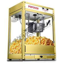 1.6kw 220V Automatic Electric Popcorn Machine Commercial Popcorn Maker