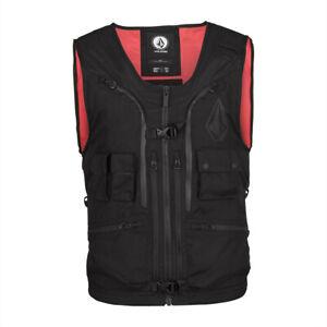 Volcom Iguchi Slack Vest New Black XL Men's 2022