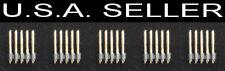 "5 pcs Samtec 10 Pin Header SMD SMT 2.54mm .1"" Spacing Male Connector PCB 2x5"