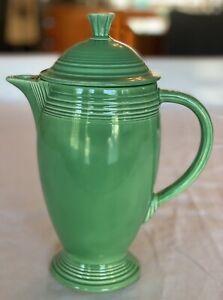 Fiestaware Vintage Original Green Coffee Pot