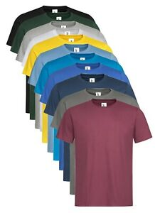 American Apparel Unisex Fine Jersey Cotton T-Shirt - 30 Colours