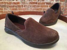 Skechers Go Step Lite Brown Suede Slip On Sneaker Shoes New