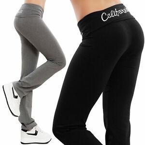 Pantaloni donna tuta aderenti elasticizzati sport fitness cotone TOOCOOL K9789