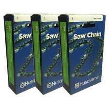 "Set of 3 Husqvarna OEM 16"" Chainsaw Chain H37-56 3.8 .050 91VG-56 576936556"