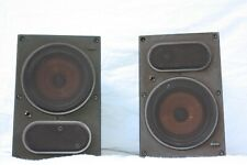 B&W LM1 BOWERS AND WILKINS CAST ALUMINIUM STEREO SPEAKERS PAIR