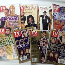 TV Guide - The Oscars - Lot of 8 Oscar-related issues - 1992+ - Academy Awards