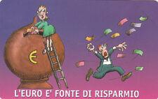 SCHEDA TELEFONICA SAN MARINO GOLDEN 84 NUOVO CATALOGO N. 9 Benvenuto Euro