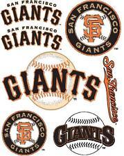 San Francisco Giants Scrapbooking Craft Sticker Sheet Set